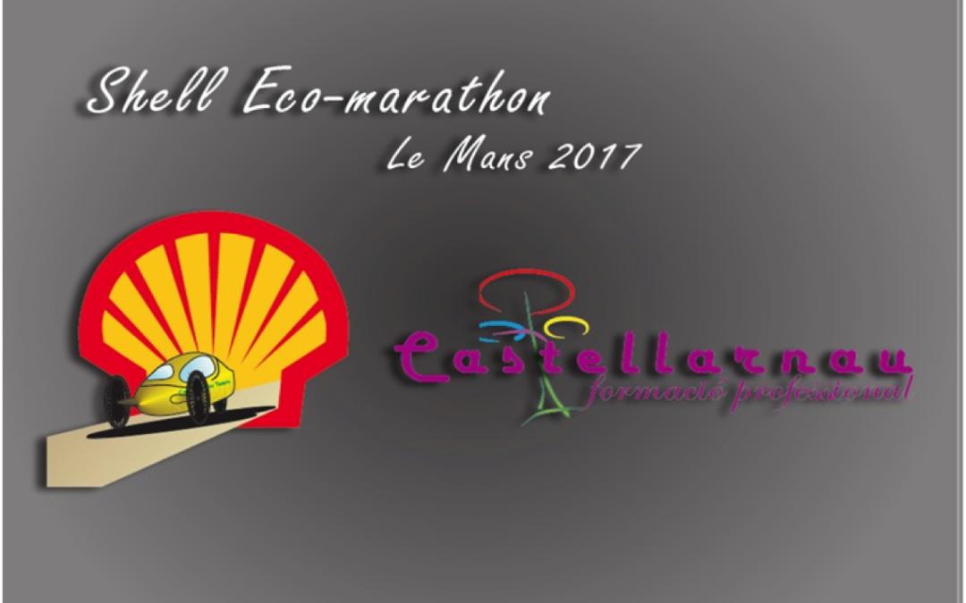 Participació de l'Institut Castellarnau a la Shell Eco-marathon (Le Mans 2017)