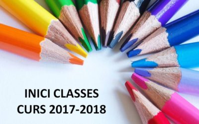 Inici classes curs 2017-2018