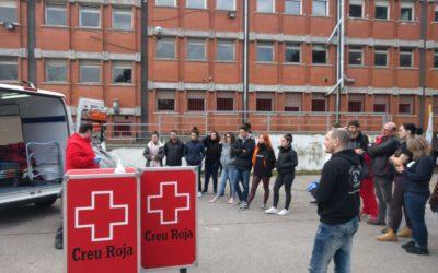 Tallers de Creu Roja per al cicle d'emergències