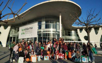 Visita a la fira Infarma dels cicles de farmàcia