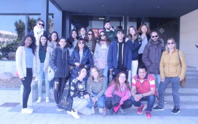 Visita dels alumnes de segon curs de dietètica a Mercabarna