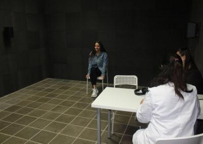 Sala de camp lliure d'audiologia