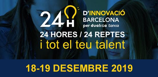 Participació de l'Institut a les 24H d'Innovació Barcelona