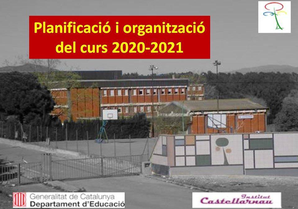Planificació i organització del curs 2020-2021
