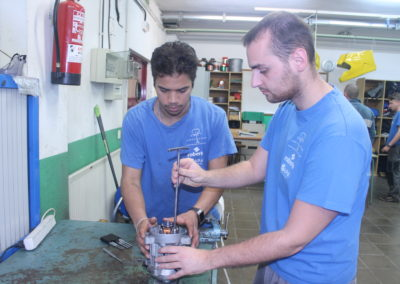 Pràctiques electromecànica
