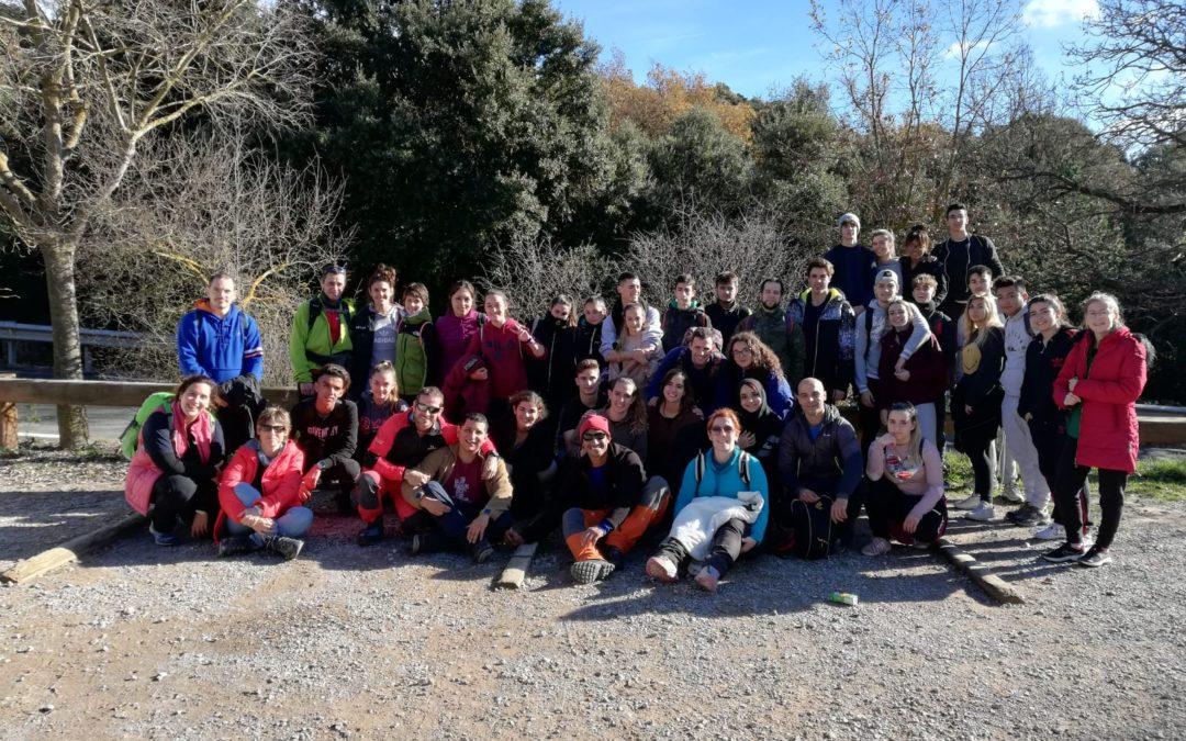 Taller de cartografia i rescat del grup d'emergències a Sant Llorenç