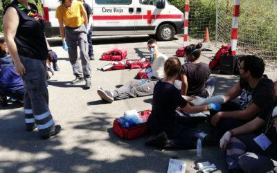 Taller de logística per als alumnes d'Emergències