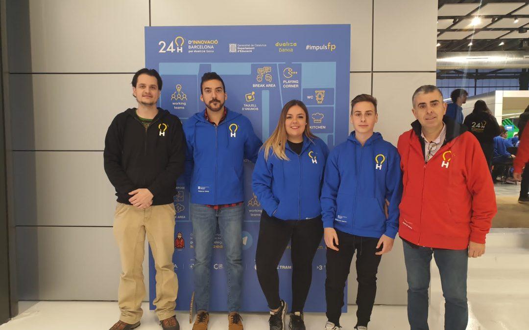 Resultats de l'Institut Castellarnau a les 24H d'Innovació Barcelona