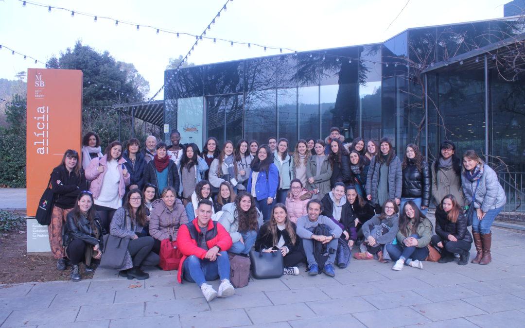Visita a la Fundació Alícia dels alumnes de dietètica
