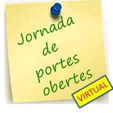Jornada Portes Obertes Virtual