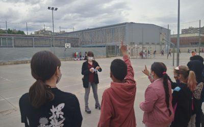 Projecte d'alumnes de dietètica a l'escola de primària La Jota, de Badia del Vallès
